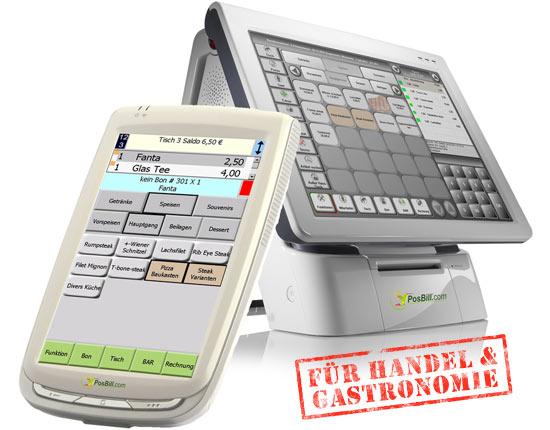 PosBill Kassensoftware und Kassensysteme